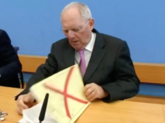 Konspiration der Zellen des Feuers Wolfgang Schäuble