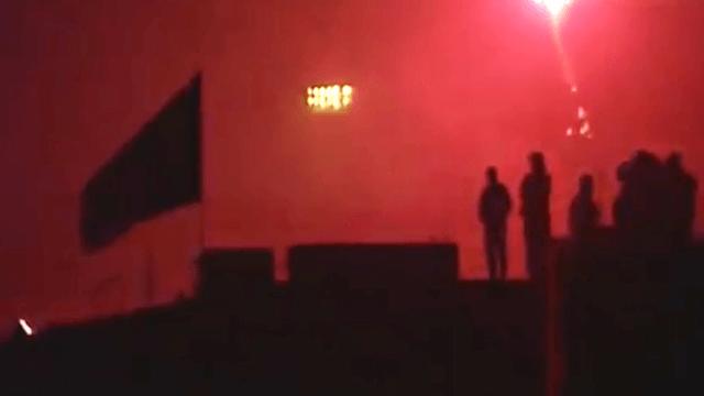 Linke Chaoten Polizei Nationalisten