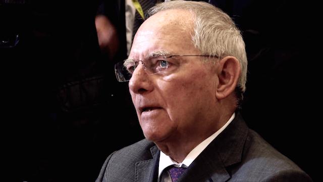 Sprengstoff-Anschlag Wolfgang Schäuble