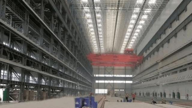 China größte U-Boot-Fabrik der Welt