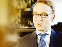 Bundesbank-Präsident Jens Weidmann zeigt der Öffentlichkeit keine Belege dafür, dass tatsächlich 1.236 Tonnen deutsches Gold in New York lagert. (Screenshot: YouTube)