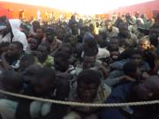 Die Migration über das Mittelmeer hat im Vergleich zum letzten Jahr deutlich zugenommen. (Screenshot: YouTube)