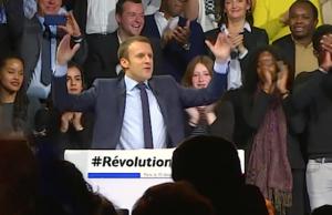 Bald hat Präsident Emmanuel Macron auch im Parlament eine absolute Mehrheit. (Screenshot: YouTube)