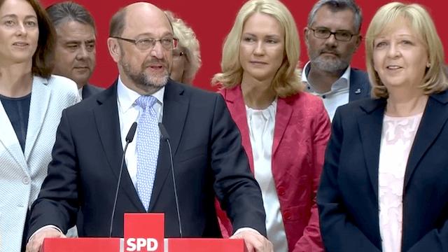 In der aktuellen Forsa-Umfrage fällt die SPD auf ihren schlechtesten Wert seit Februar. (Screenshot: YouTube)
