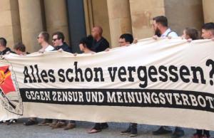 Identitäre Bewegung gegen Zensur Bundesjustizministerium Heiko Maas