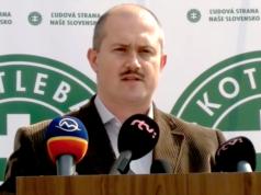 Im Jahr 2006 wurde schon einmal eine Partei von Marian Kotleba verboten. (Screenshot: YouTube)