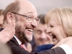 Mit Martin Schulz steht die SPD noch immer deutlich besser da als vorher. (Screenshot: YouTube)