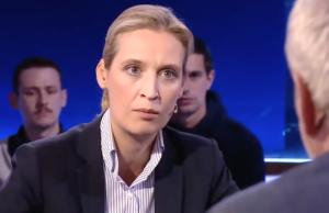Mit Spitzenkandidatin Alice Weidel erreicht die AfD derzeit nur 6,5 Prozent. (Screenshot: YouTube)