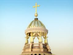 Architekt Franco Stella verteidigt Kreuz auf der Kuppel seines Plans für das Berliner Stadtschloss. (Screenshot: YouTube)