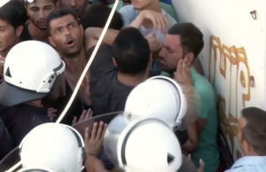 Griechenland sieht sich nicht in der Lage, neben den eigenen Migranten und den Neuankömmlingen auch noch Asylbewerber aus Deutschland zurückzunehmen. (Screenshot: YouTube)
