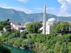 Mostar in Bosnien-Herzegowina hat eine schöne Moschee. Doch Hans-Peter Doskozil warnt vor einer Islamisierung des Balkans.