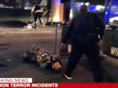 BBC zeigte dieses Bild, in dem einer der erschossenen Täter zu sehen sein soll. (Screenshot: YouTube)
