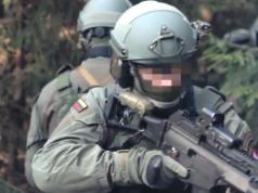 Die Nato probte am Wochenende für einen Angriff Russlands auf das Baltikum. Im Bild ein litauischer Soldat. (Screenshot: YouTube)