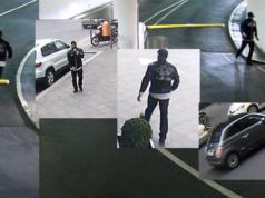 Die Ermittler suchen diesen brutalen Uhren-Räuber und sein Fahrzeug. (Fotos: Polizei Berlin)