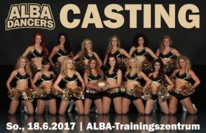 Die Tänzerinnen von ALBA Berlin suchen Nachwuchs.