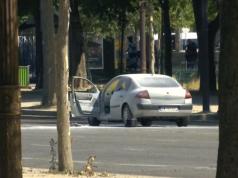 Tatfahrzeug Islamistischer Sprengstoff-Anschlag auf Pariser Polizei