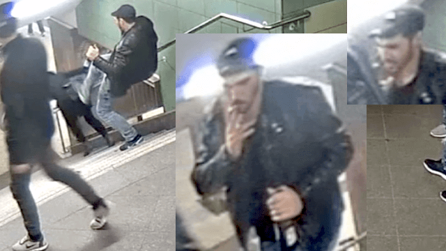 Am 27. Oktober lachte U-Bahntreter Svetoslav Stoykov. Am Donnerstag weinte er vor dem Moabiter Kriminalgericht. (Screenshot: YouTube)