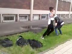 """Laut einer Lehrer-Umfrage ist """"Du Jude!"""" ein übliches Schimpfwort auf Berlins Schulhöfen. (Screenshot: YouTube)"""