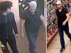 Diese zwei Männer raubten eine Seniorin in Berlin-Schöneberg aus. (Bilder: Polizei Berlin)