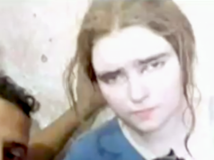 Unter den vier kürzlich im Irak festgenommenen IS-Kämpferinnen mit deutschem Pass ist Linda Wenzel die jüngste und bekannteste. (Screenshot: YouTube)