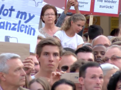 """Die Anzeigen gegen Angela Merkel wegen Hochverrat sind nach Auffassung der Bundesanwaltschaft in Karlsruhe alle """"haltlos"""". (Screenshot: YouTube)"""