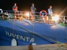 """Italien hat das Schiff """"Iuventa"""" von Jugend Rettet beschlagnahmt und die Crew verhört. (Screenshot: YouTube)"""