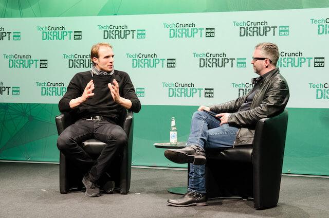 Einer von den reichsten Berlinern. Marc Samwer (Global Founders Group & Global Founders Capital) bei TechCrunch (Foto: TechCrunch)