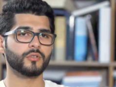 """Nach Ansicht von Masoud Aqil sind die Deutschen im Umgang mit dem Terror """"erstaunlich naiv"""". (Screenshot: YouTube)"""