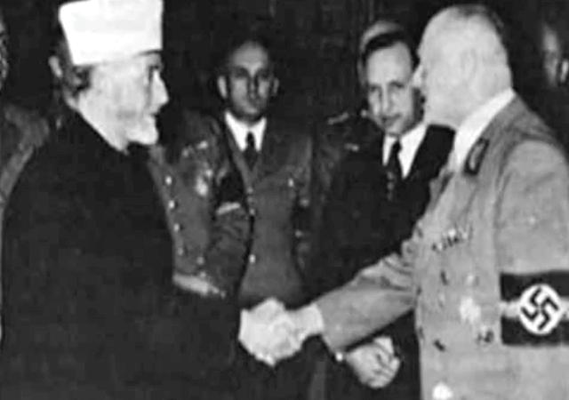 Dieses historische Foto des Muftis von Jerusalem Mohammed Amin Al-Husseini hatte Michael Stürzenberger in seinem Artikel verwendet.