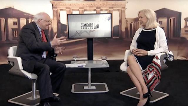Standort Berlin mit Catherine von Fürstenberg-Dussmann (Foto: TV.Berlin, Youtube)