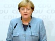 Angela Merkel kann trotz der Verluste ihrer Partei voraussichtlich auch die kommenden vier Jahre als Bundeskanzlerin regieren. (Screenshot: YouTube)