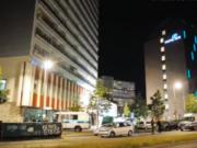 Eine Frau stürzte in der Leipziger Straße aus dem 16. Stock und verstarb vor Ort. (Screenshot: YouTube)