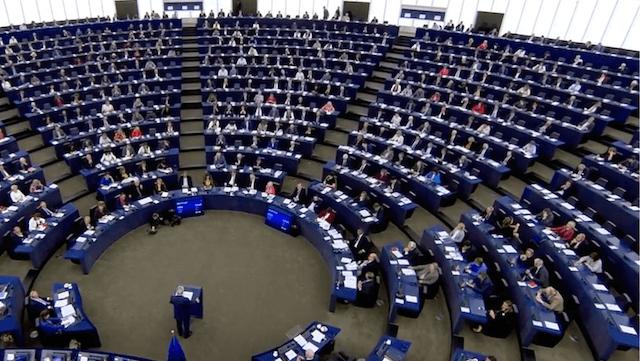 Juncker forderte in Straßburg eine EU-Erweiterung auf 30 Staaten. (Screenshot: YouTube)