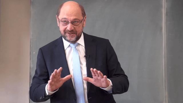 Martin Schulz glaubt, dass er die Wahl noch drehen kann. (Screenshot: YouTube)