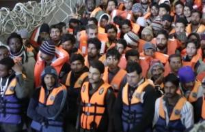 Laut einer Pew-Studie dürfen fast alle Asylbewerber dauerhaft in der EU bleiben. (Screenshot: YouTube)