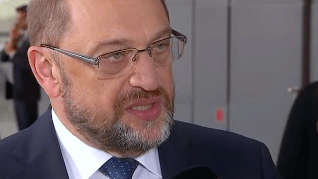 Erhofft sich Martin Schulz durch Neuwahlen einen Vorteil? (Screenshot: YouTube)