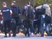 Die Kritik durch Ausbilder der Berliner Polizeiakademie an ihren Schülern hält an. (Screenshot: YouTube)