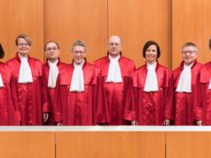 Die Karlsruher Richter fordern ein drittes Geschlecht. (Quelle: © Bundesverfassungsgericht│lorenz.fotodesign, Karlsruhe)