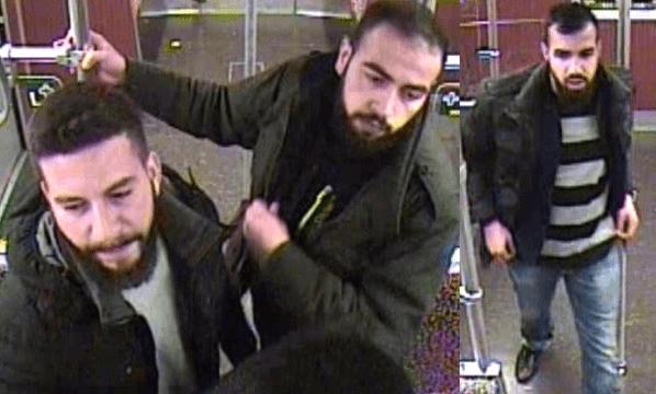 Diese drei Männer attackierten im Oktober 2016 Fahrgäste in einer U-Bahn der Linie U8. (Fotos: Polizei Berlin)