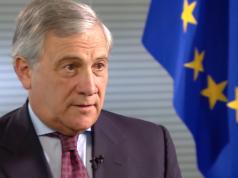 EU-Parlamentschef Antonio Tajani fordert doppelt so viel Geld für sein Haus. (Screenshot: YouTube)