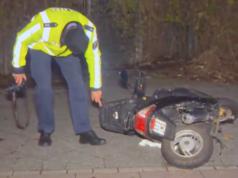 Nach der Fahrt auf eine Menschengruppe in Berlin-Reinickendorf hat sich ein Marokkaner der Polizei gestellt. (Screenshot: YouTube)