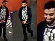 Die Polizei sucht diesen Mann, der in der Nähe des U-Bahnhof Hallesches Tor eine junge Frau sexuell genötigt haben soll. (Fotos: Polizei Berlin)