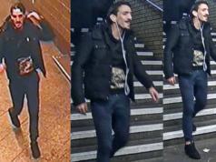 Die Ermittler suchen diesen mutmaßlichen Messerstecher vom U-Bahnhof Neukölln. (Bilder: Polizei Berlin)