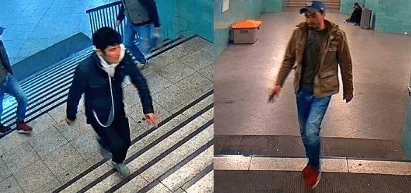 Die anderen beiden mutmaßlichen Schläger vom U-Bahnhof Alexanderplatz (Fotos: Polizei Berlin)