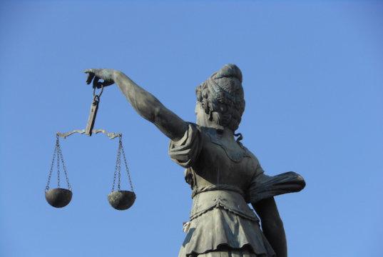 Den Traum der EU gibt es noch - aber nur in Brüssel. Hier: Justitia - die Göttin der Gerechtigkeit, ein Symbol der westlichen Rechtssystems. (Foto: Michael Coghlan)